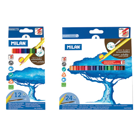 Water-Soluble Colored Pencil Sets