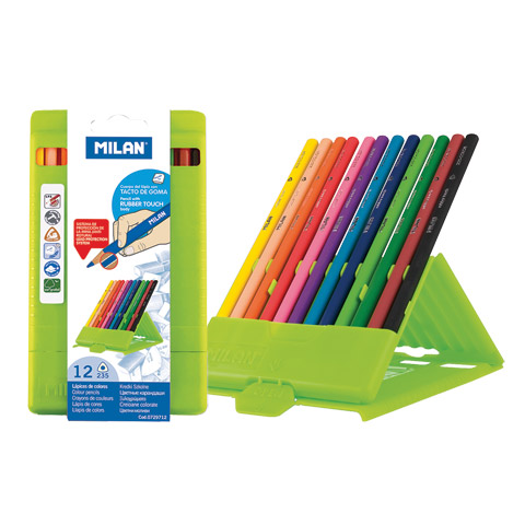 Rubber-Touch Colored Pencil Sets