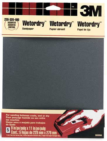 Wet/Dry Assorted Sandpaper