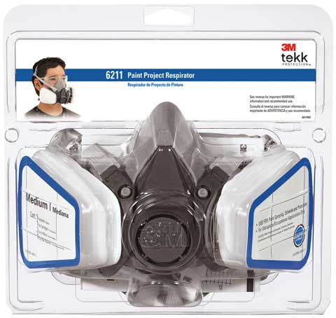 Tekk Protection Paint Project Respirators
