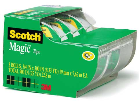 #3105 Scotch Magic Tape 3-Pack