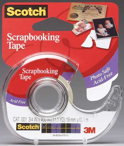 #001 Scotch Photo & Document Mending Tape