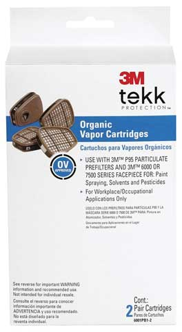 6001 Organic Vapor Cartridge