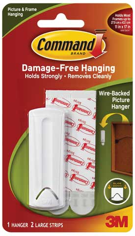 Wall Mount for Wire Backed Picture Hangers