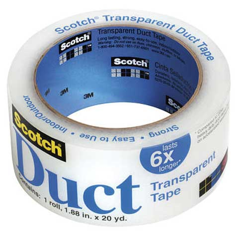 Scotch Transparent Duct Tape