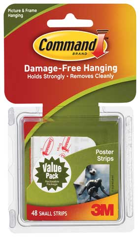 Command Poster Hanging Strips