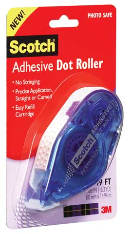 Adhesive Dot Roller & Refill