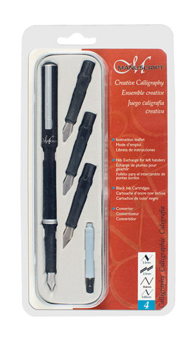 Creative Calligraphy 4-Nib Set