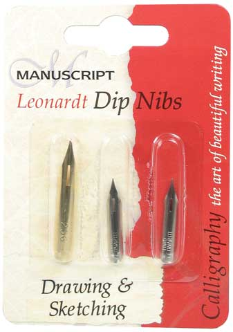 Drawing & Sketching Dip Pen Nib Set