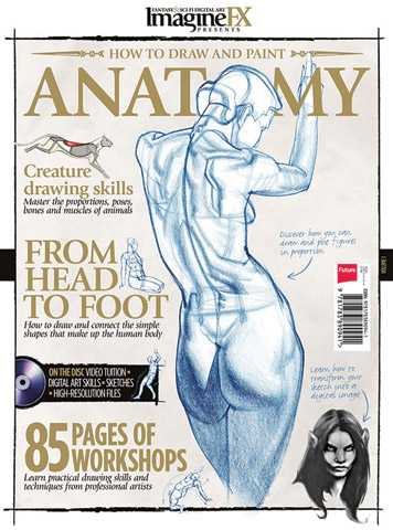 How to Draw & Paint Anatomy