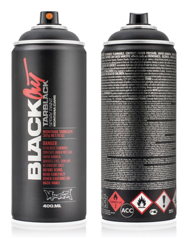 Blackout Tarblack Spray