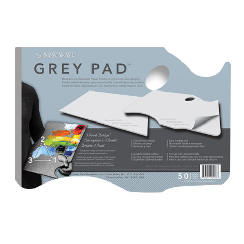 Grey Pad Paper Palettes