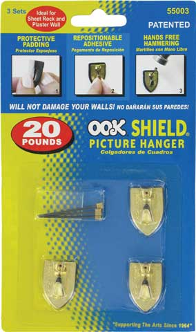 Professional Shield Hangers