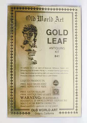 Gold Leaf Antiquing Kit