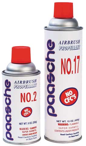 Air Propellant Cans