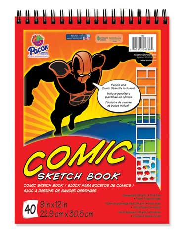 Comic Sketch Book