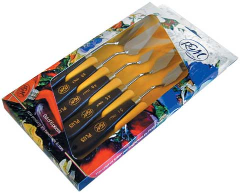Italian Plus Painting Knife Set