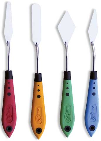 Soft Grip Palette Knives