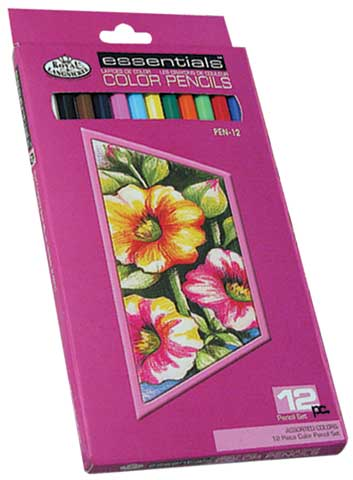 Essentials Colored Pencil Drawing Set
