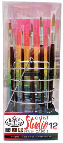 Artist Studio Brush Caddie Sets