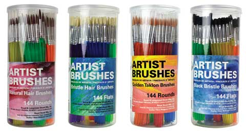 Artist Brush Canisters