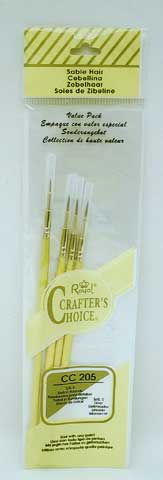 Crafter' s Choice Value Pack Brush Sets