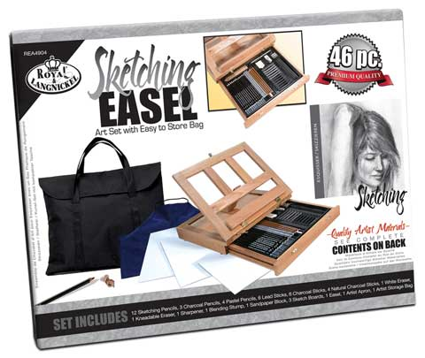 Sketching Easel Set with Storage Bag