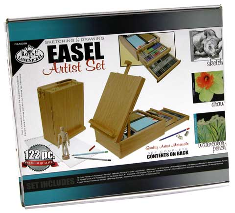 Deluxe Sketch Easel Box Set