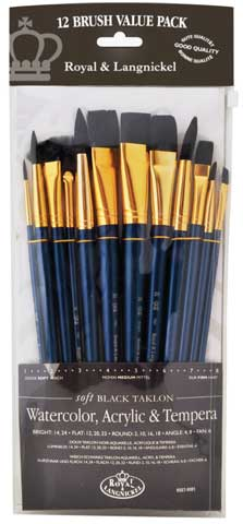 Zip N' Close 12-Brush Sets