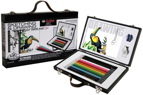 Travel Easy Sketching & Drawing Set