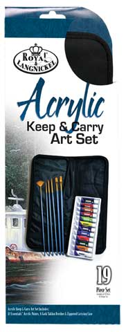 Keep N' Carry Acrylic Painting Sets