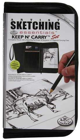 Keep N' Carry Sketching Sets