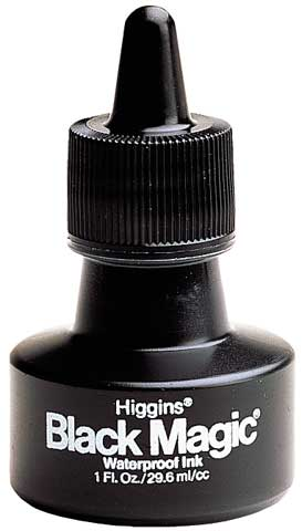 Waterproof Black Magic Ink