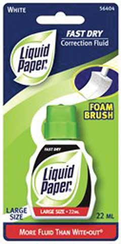 Fast Drying Liquid Paper