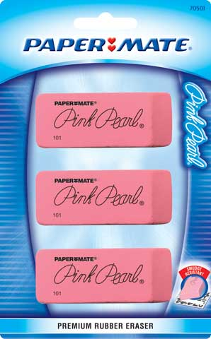 Pink Pearl Erasers