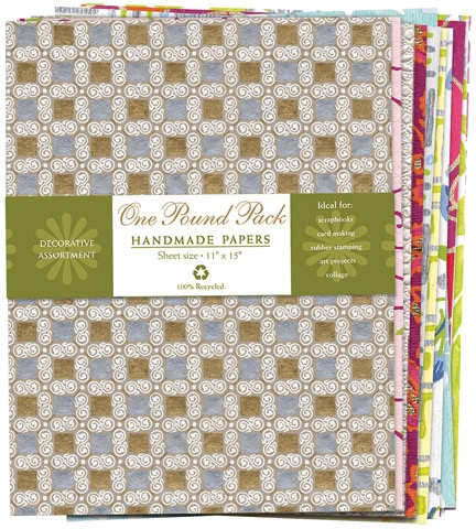 Handmade Paper One-Pound Packs