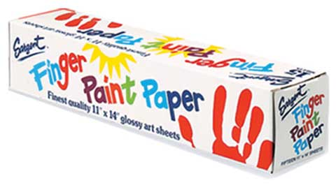 Finger Painting Paper