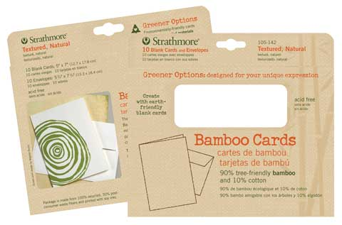 Bamboo Blank Greeting Cards
