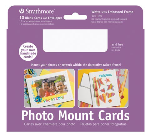 Photo Mount Cards