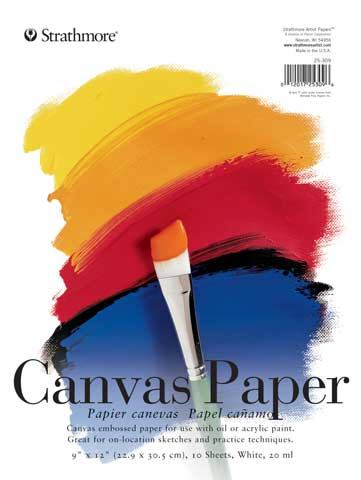Student Series Canvas Paper Pads
