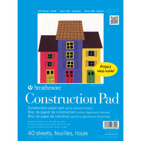Kids Construction Paper Pad