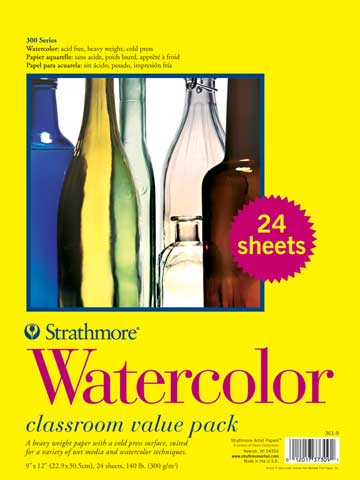 Watercolor Paper Sheets (Series 300)