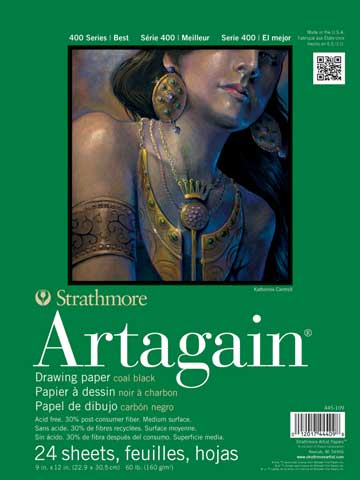 Black Artagain Pads (Series 400)