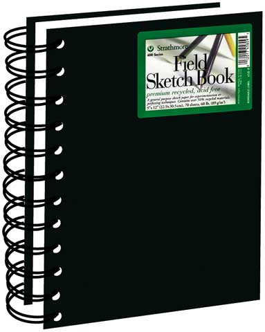 Hardcover Recycled Field Sketch Books