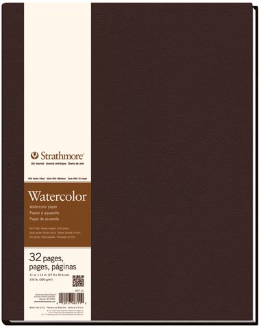 Watercolor Hard-Bound Art Books (Series 400)