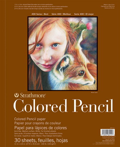 Colored Pencil Pads (Series 400)