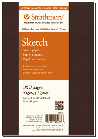 Softcover Sketch Art Journals (Series 400)