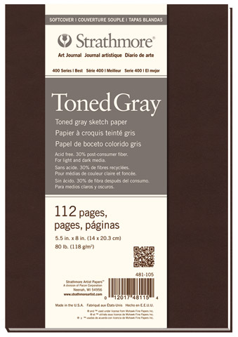 Softcover Toned Art Journals (Series 400)