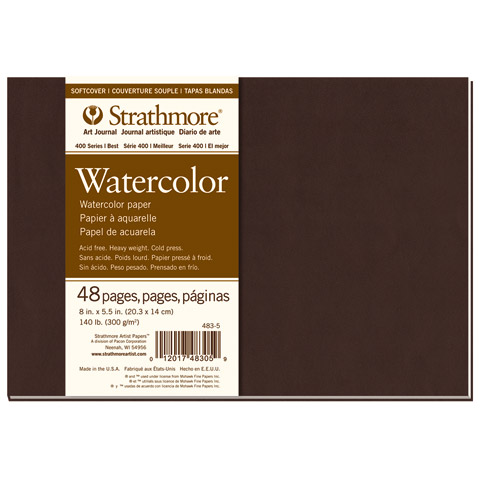 Softcover Watercolor Art Journals (Series 400)