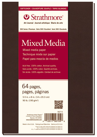 Softcover Mixed Media Art Journals (Series 500)